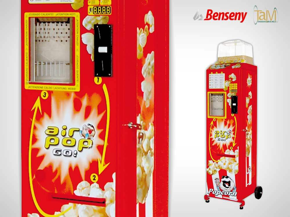 Benseny fabrica Air Pop Go! de TAM